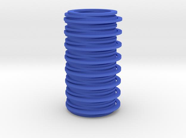 Vase in Blue Processed Versatile Plastic