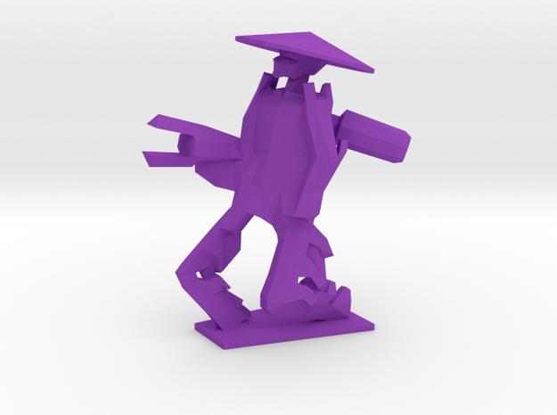 Purple in Purple Processed Versatile Plastic