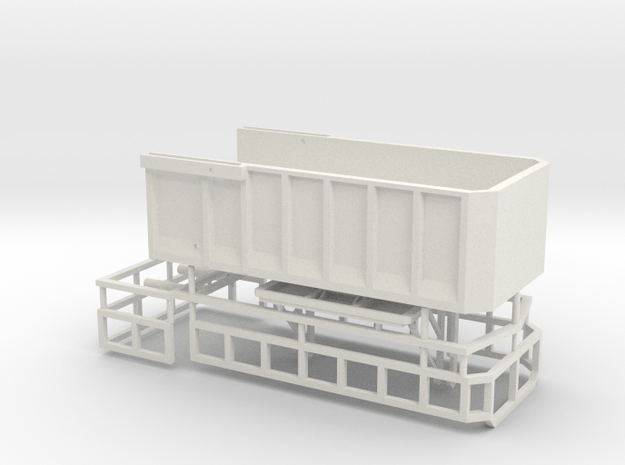 1/64 AS18 grain/silage bed in White Natural Versatile Plastic