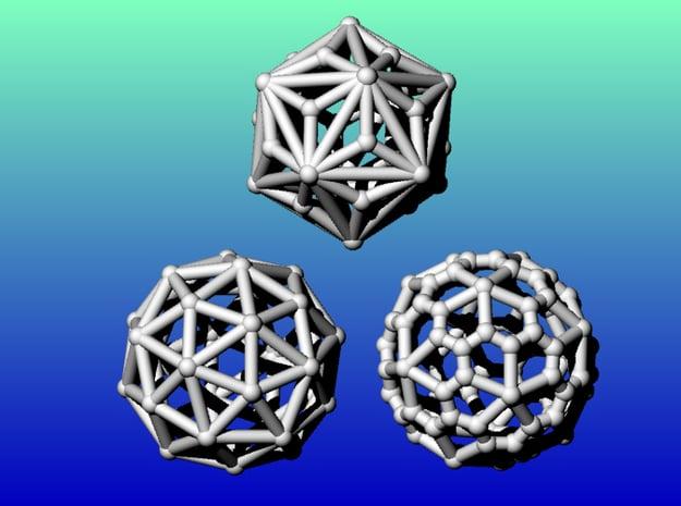 Geometrix Collection 4 in White Natural Versatile Plastic