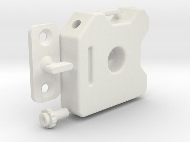 PowerPac 3 Gallon 1/10th Scale in White Natural Versatile Plastic