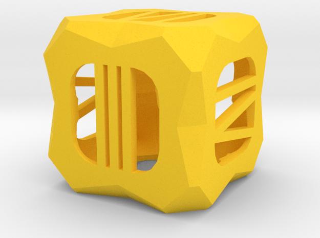 Dice156 in Yellow Processed Versatile Plastic