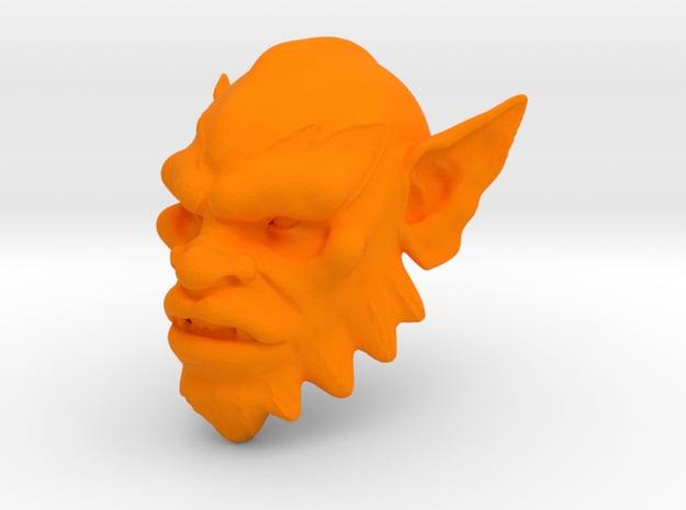 Filmation Beastman in Orange Processed Versatile Plastic