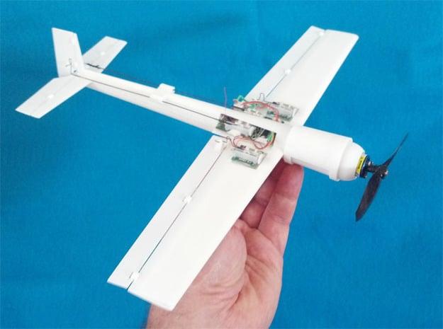 Blaze 2 Micro RC Hotliner Aerobatic 3D Plane in White Natural Versatile Plastic