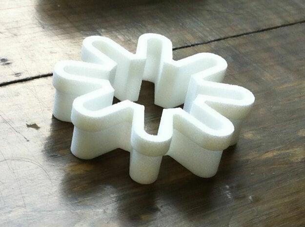 Sunny in White Processed Versatile Plastic