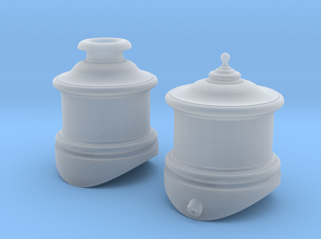 """Cooke Domes 48"""" Boiler O-Scale in Smooth Fine Detail Plastic"""