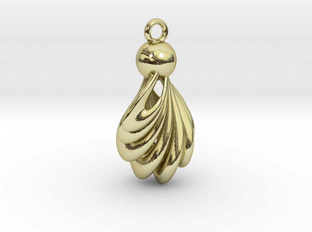 Twist in 18K Gold Plated