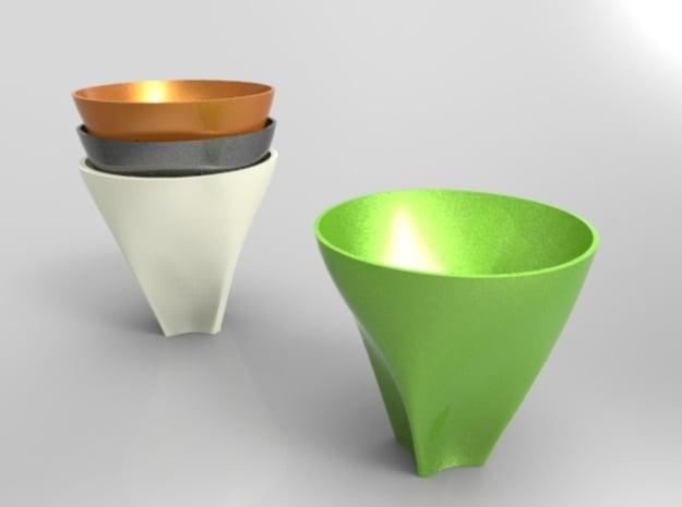 TAZ! in Purple Processed Versatile Plastic