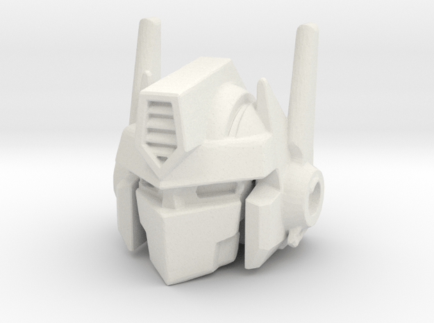 Combiner Wars Optimus Prime MP-10 Styled Head in White Natural Versatile Plastic