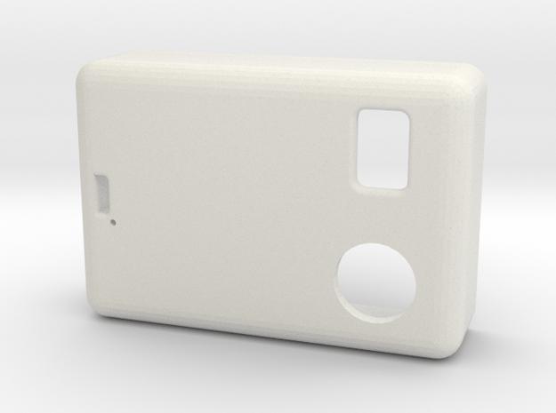 SX350 1550P Hammond Lid V1 in White Natural Versatile Plastic