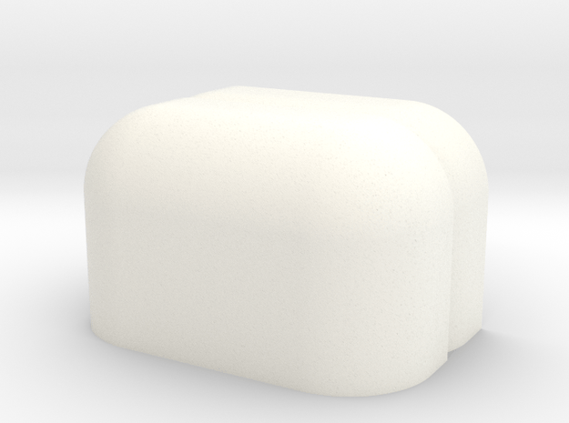 Fender x2 Activitybot Boebot Robot Skin. in White Processed Versatile Plastic