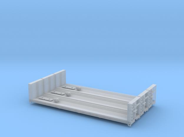 HO Greenville Woodrack 3 Pack in Smooth Fine Detail Plastic