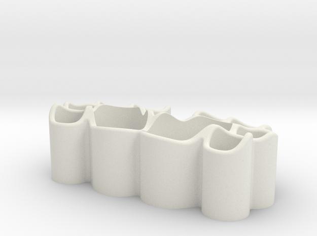 Bear feet penholder in White Natural Versatile Plastic