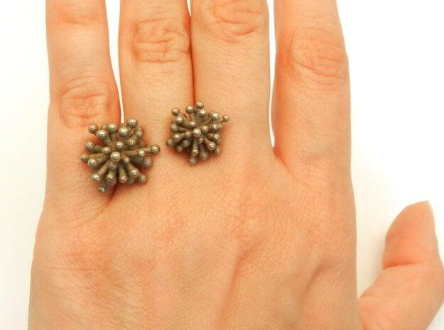 Double Starburst Ring