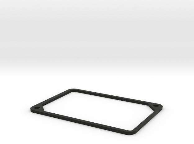 2mm Beauty Ring - 1550P spacer in Black Natural Versatile Plastic