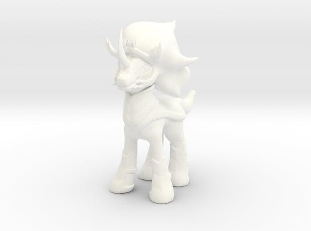 King Sombra in White Processed Versatile Plastic