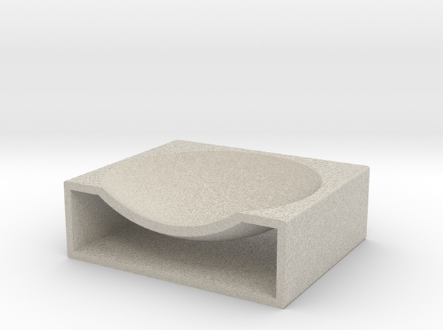 Coin Tray in Natural Sandstone