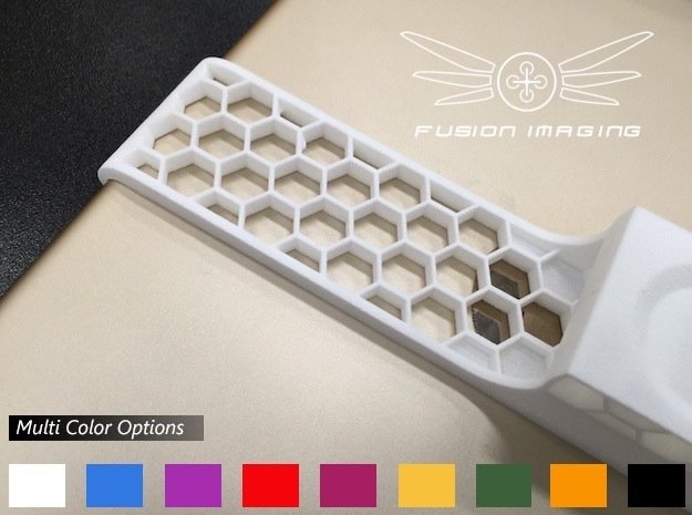 iPad Air 2 Remote Mount for DJI Phantom in White Processed Versatile Plastic
