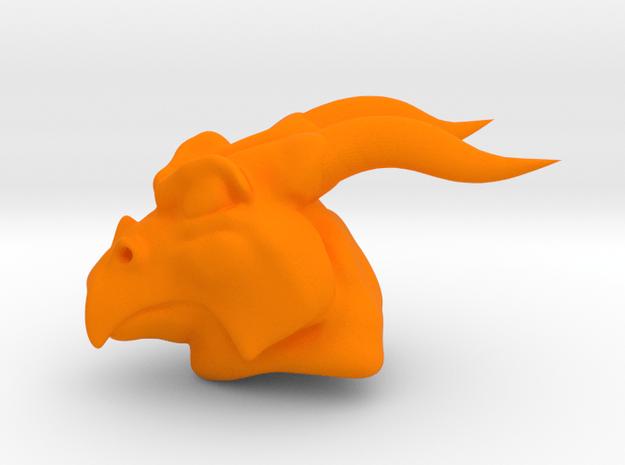 PM3D Dragoonfinal in Orange Processed Versatile Plastic