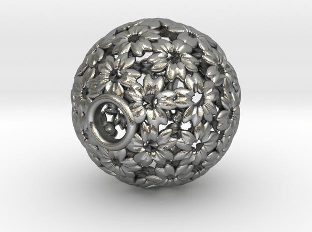 Sakura 27mm in Natural Silver