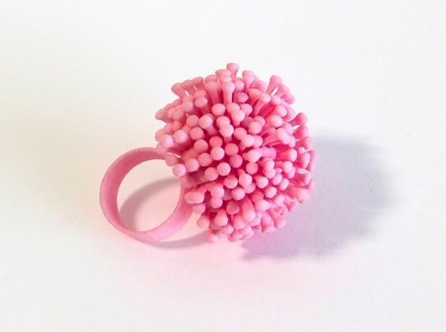 Dandy Ring in White Natural Versatile Plastic