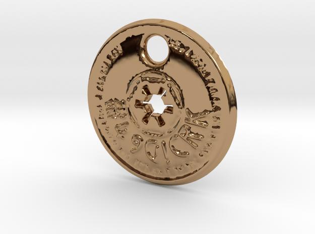 ZWOOKY Style 150  -  Holo in Polished Brass