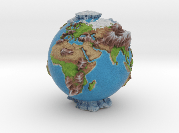 The Whole World in Full Color Sandstone