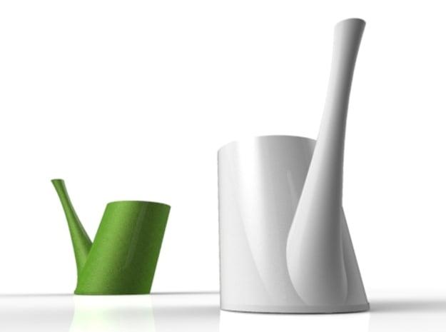 Brunch C in White Natural Versatile Plastic
