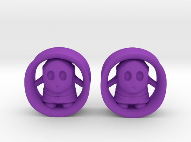"Shy Guy 9/16""G Set in Purple Processed Versatile Plastic"