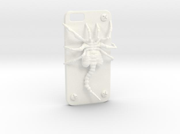 Iphone 6 Casehugger in White Processed Versatile Plastic