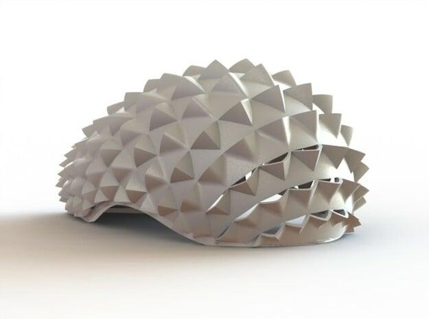 Chrysalis 001 in White Natural Versatile Plastic
