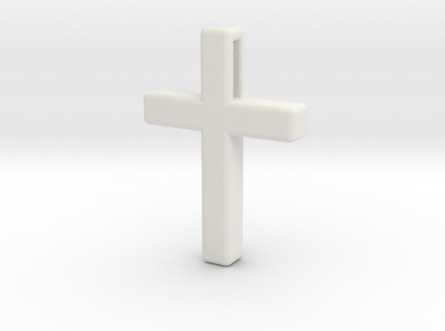 Cross Cube 35-25-5 in White Natural Versatile Plastic