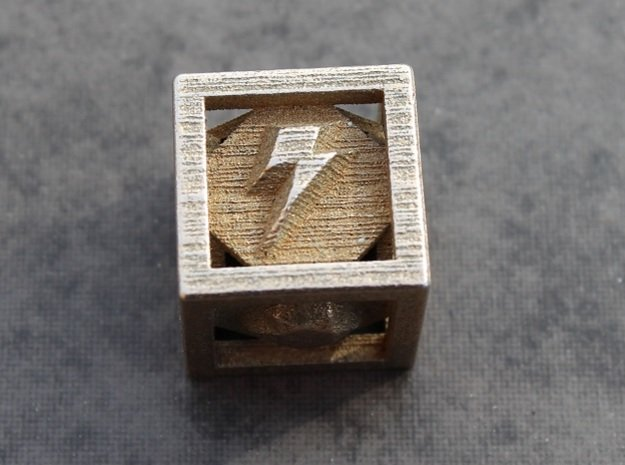 Elements of Harmony Die in Polished Bronzed Silver Steel