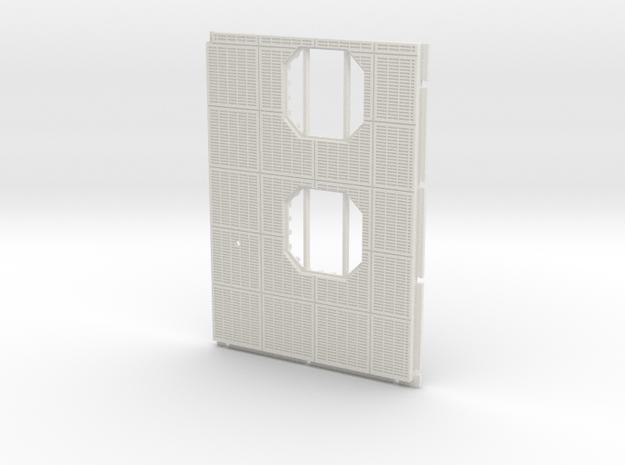 Floor Section in White Natural Versatile Plastic