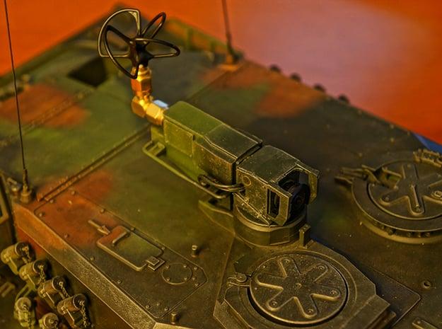 Tamiya Leopard 2 A6 FPV Periscope in Smooth Fine Detail Plastic