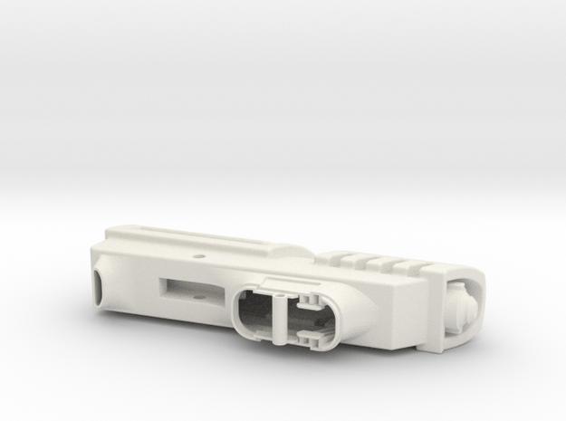 SK-11 Train in White Natural Versatile Plastic