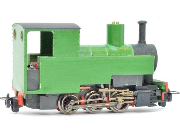 "Lynton & Barnstaple ""Axe"" (009) in Smooth Fine Detail Plastic"