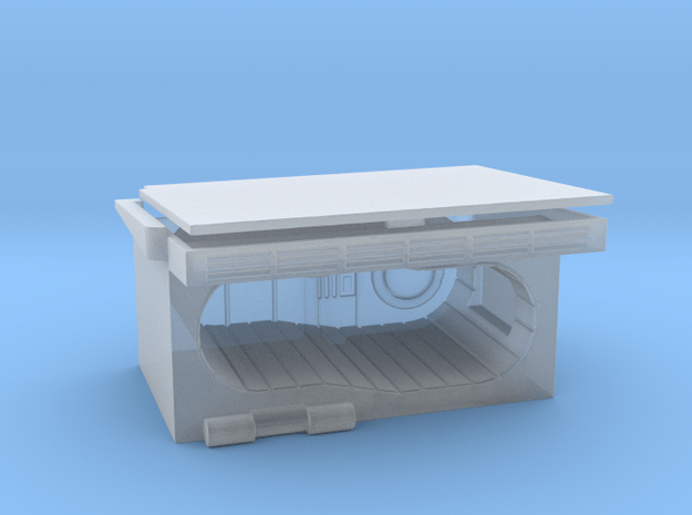 Hold Bunk in Smooth Fine Detail Plastic