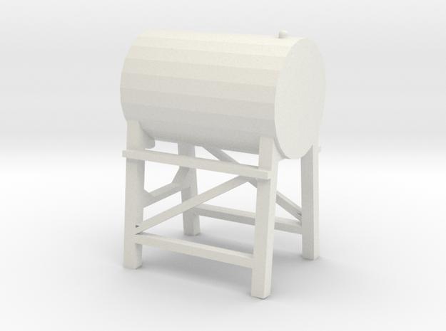 1/64 Fuel Tank in White Natural Versatile Plastic