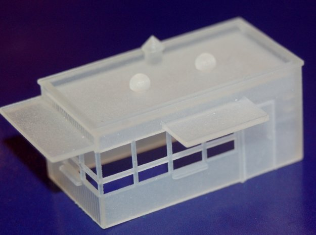 N-Scale Drive-Up in Smooth Fine Detail Plastic