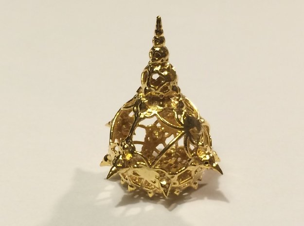 Amazing In Wire - small in 18k Gold Plated Brass