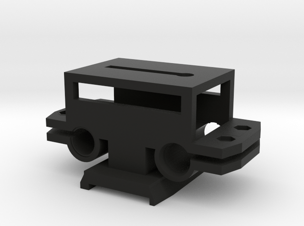Rail System Bottom Base W/ Tripod Mount in Black Natural Versatile Plastic