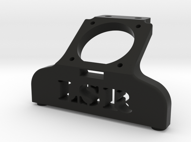 B5m 25mm Fan Brace, LSR Edition in Black Natural Versatile Plastic