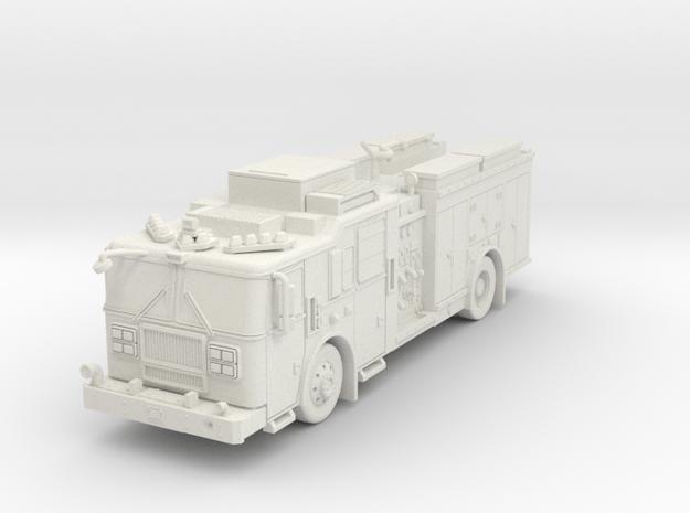 ~1/64 FDNY Seagrave Marauder II Squad in White Natural Versatile Plastic