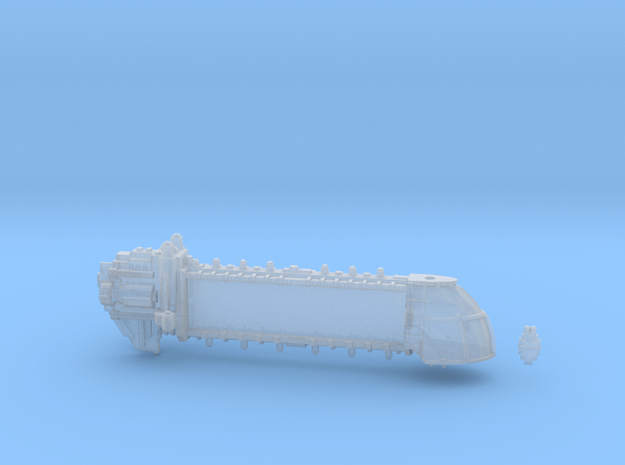 Heavy Freighter Trojan in Smooth Fine Detail Plastic