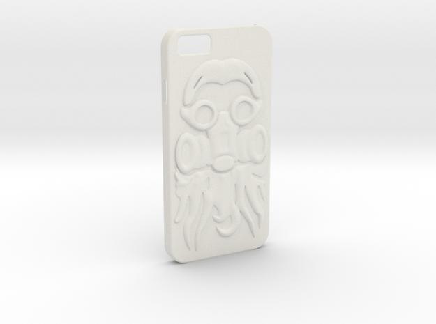 Irish Mike Gasmask - iPhone 6 Case in White Natural Versatile Plastic