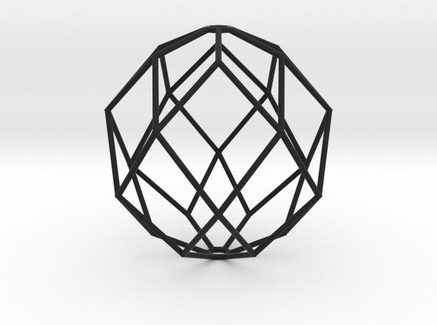 100x100 Hexajewel Pendant Light in Black Natural Versatile Plastic