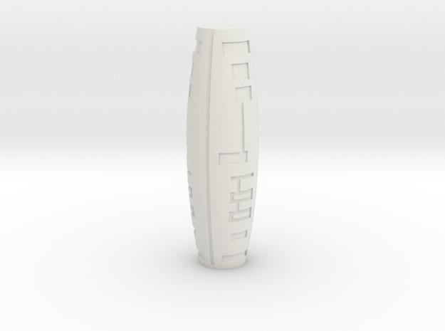 Siringe Arrow in White Natural Versatile Plastic