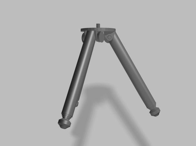 Adjustable Tripod Camera Mount  in White Processed Versatile Plastic