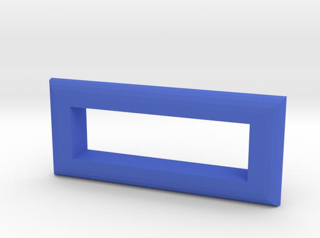 sxmini Rounded Bezel in Blue Processed Versatile Plastic